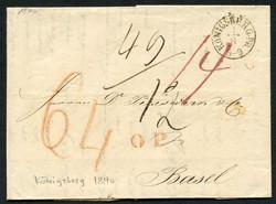 35: Altdeutschland Hamburg - Briefe Posten