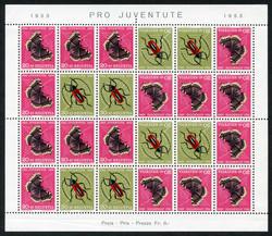 5656: Switzerland Pro Juventute - Souvenir / miniature sheetlets
