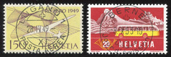 5659: Switzerland Airmail Issues - Cancellations and seals