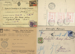 215000: Postal History, Stamps, Stamp on Picture Postcards