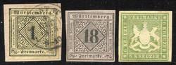 100: Altdeutschland Württemberg - Sammlungen