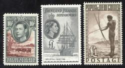 7140: Sammlungen und Posten Britisch Commonwealth allgemein - Lot