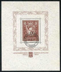 4175: Liechtenstein - Souvenir / miniature sheetlets
