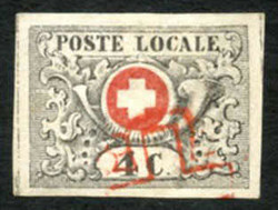 5645: Schweiz Kantone Genf - Stempel