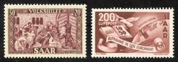 350: Saar - Souvenir / miniature sheetlets