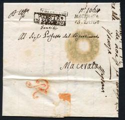 3360: États pontificaux États d'Italie - Pre-philately