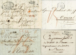 1810: Belgium - Covers bulk lot