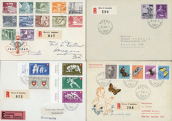 5659: Switzerland Airmail Issues - Souvenir / miniature sheetlets