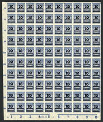7999: German Empire, 1918/23 inflation issues - Bulk lot