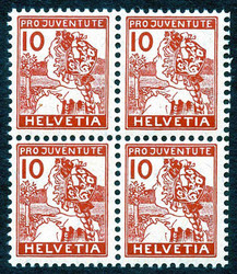 5657: Switzerland Pro Patria - Face value bulk lot