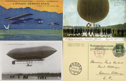 202030: Picture Postcards, Greeting Cards, Zeppelin