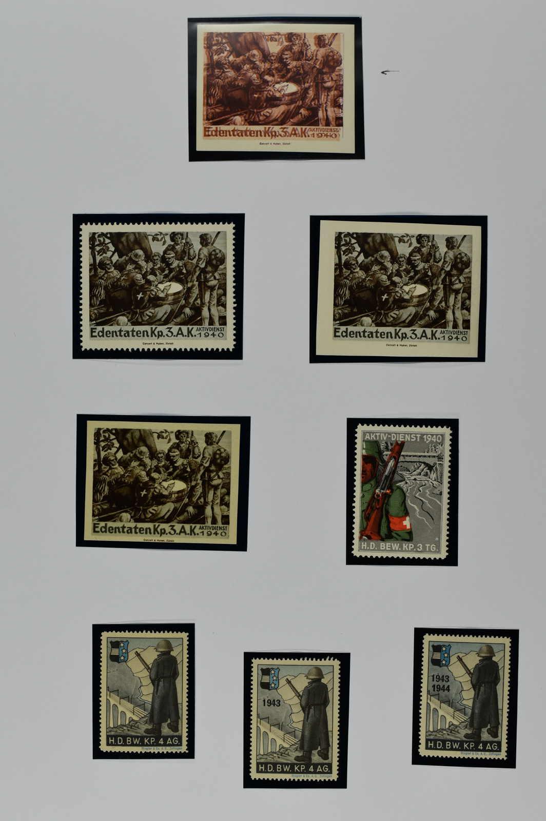Lot 226 - schweiz Schweiz Soldatenmarken -  Schwarzenbach Auktion Zurich 67th Auction - Session II
