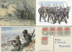 5711: Soldier Stamps - Postal stationery
