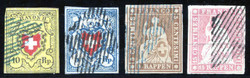 5655093: Switzerland Rayon - Official stamps