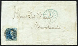 1810: Belgium - Covers bulk lot