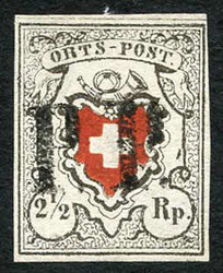 5655090: Switzerland poste locale - Cancellations and seals