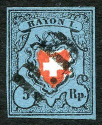 5655093: Switzerland Rayon - Cancellations and seals
