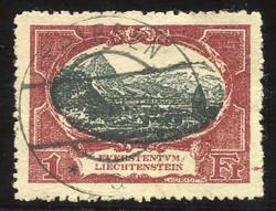 4175: Liechtenstein - Face value bulk lot