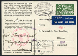 5659: Switzerland Airmail Issues - Covers bulk lot