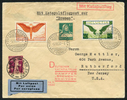 1420: German Federal Republic - Airmail stamps