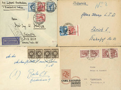 1420: German Federal Republic - Covers bulk lot