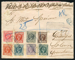 7261: Collections and Lots Spain and Colonies - Covers bulk lot