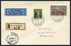 190260: Switzerland, Canton Zurich - Airmail stamps
