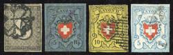 5645: Switzerland Canton Genf - Bulk lot