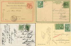 4175050: Austrian stamps used in Liechtenstein - Postal stationery