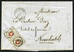 5655090: Schweiz Ortspost - Dienstmarken