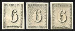 5640: Switzerland Canton Zuerich - Offical reprints