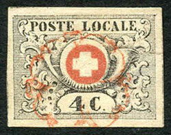 5655080: Switzerland Transitional Period, Waadt, Neuenburg, Winterthur - Cancellations and seals