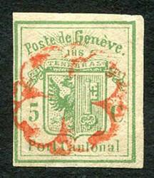 5645: Switzerland Canton Genf - Postal stationery
