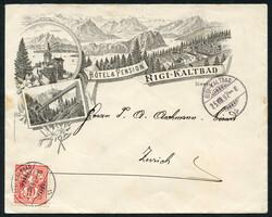 190260: Switzerland, Canton Zurich - Collections