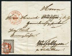 5640: Switzerland Canton Zuerich - Cancellations and seals