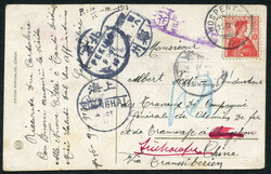 5655148: Switzerland numeric pattern - Postal stationery