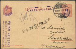6725: Westungarn - Ganzsachen