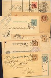 4745320: Österreich Abstempelungen Oberösterreich - Ganzsachen