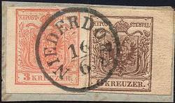 4745402: Austria Cancellations Alto Adige - Cancellations and seals