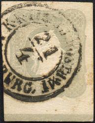 4745057: Österreich Zeitungsmarke 1858/59