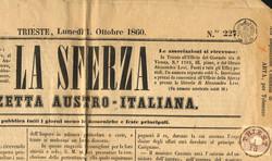 4745057: オーストリア・1858年新聞切手