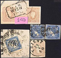 4745072: Österreich Zeitungsmarke1863 - Sammlungen