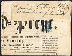4745072: Autriche Zeitungsmarke1863 - Collections