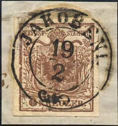 4745350: 奧大利郵戳Bohemia