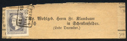 4745082: オーストリア・1867年新聞切手 - Newspaper stamps