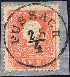 4745340: Österreich Abstempelungen Vorarlberg - Cancellations and seals