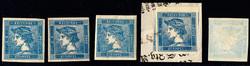 4745052: Austria Newspaper Stamps 1851