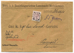 4745085: Austria Issue 1883 - Cancellations and seals