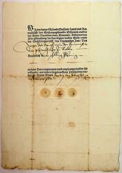 4745020: Österreich Altbriefe und Dokumente