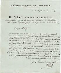 5655030: Die Französischen Armeen in der Schweiz 1792-1806 - Vorphilatelie